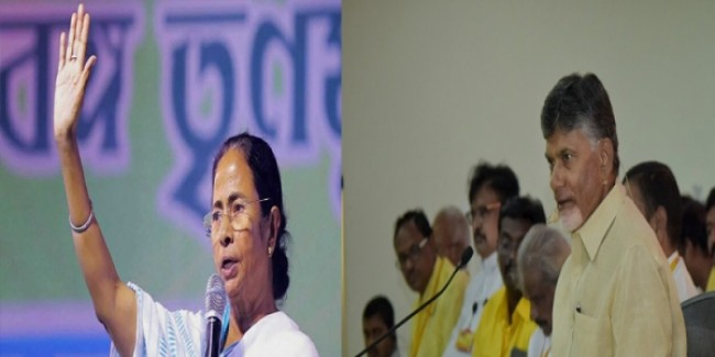 Mamata Gives Cold Shoulder To Chandrababu Over Opposition Meeting