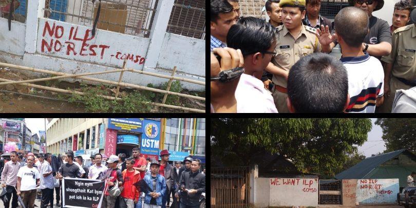 Meghalaya: 'No ILP, No Rest' chants reverberate across state
