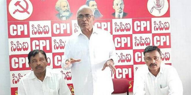 CPI secretary charges KCR with undemocratic practices