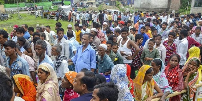 Over 110 declared foreigners sent to detention camps in Assam; families claim Indian citizens being harassed
