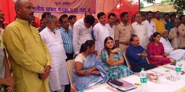 सुल्तानपुर को मिली नई बसों की सौगात, मेनका गांधी ने कहा: मैंने पूरा किया वादा