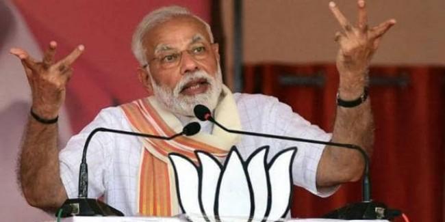 जब आप कमल का बटन दबाओगे तो समझो आतंकवाद खत्म कर रहे हो: PM मोदी