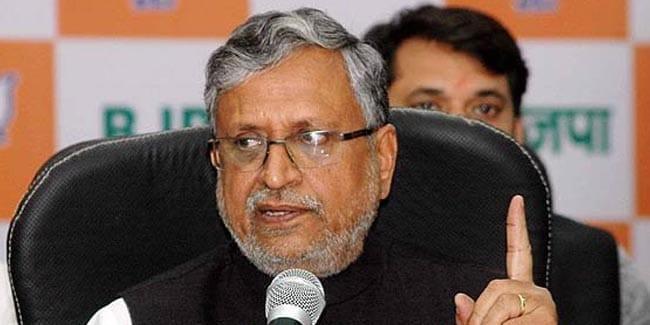 एनडीए सरकार पूरी मजबूती के साथ विकास के एजेंडे पर : सुशील मोदी