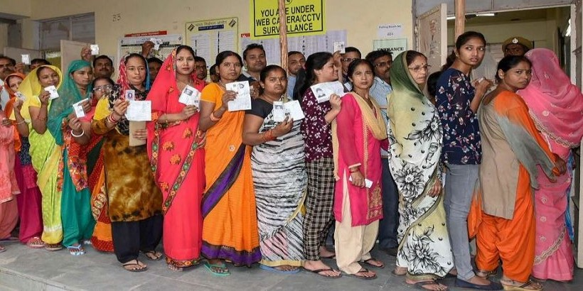 छुटपुट घटनाओं के बीच 65.48 प्रतिशन मतदान