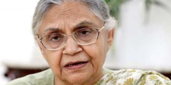 कांग्रेस ने केजरीवाल से की मांग, शीला दीक्षित के नाम पर हो सिग्नेचर ब्रिज का नाम