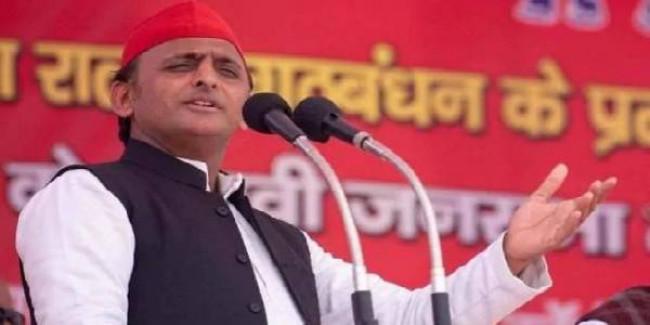 अखिलेश बोले-BJP राज में बढ़ रहा भ्रष्टाचार, अपराध और बेरोजगारी