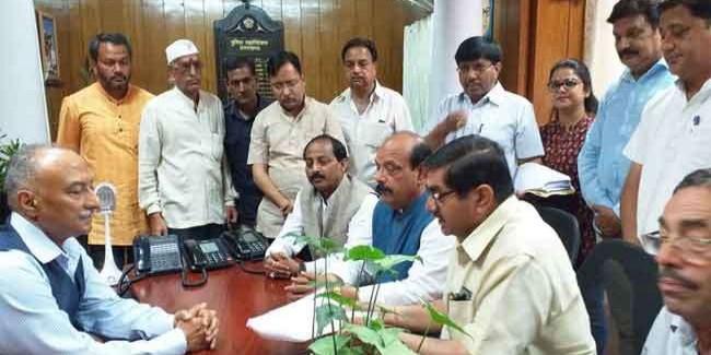 भाजपा विधायक की महापुरुषों पर टिप्पणी पर कांग्रेस ने खोला मोर्चा, भाजपा का पलटवार