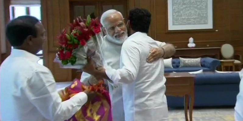 Jagan Reddy Meets PM Modi In Delhi After Massive Win In Andhra Pradesh