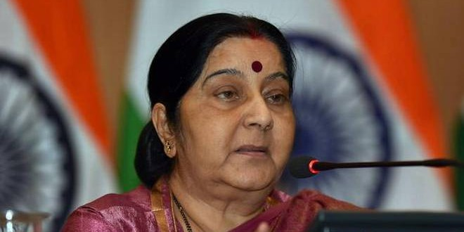 EAM Sushma Swaraj Tweets on Sri Lanka Serial Blasts