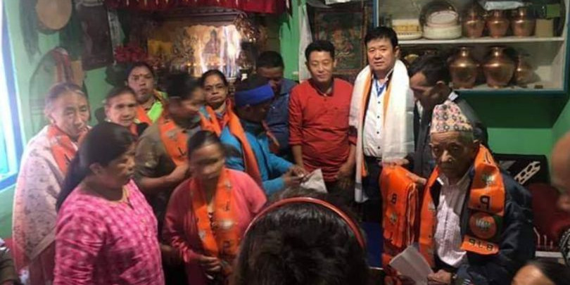 SKM, BJP common candidate confident of winning Gangtok seat