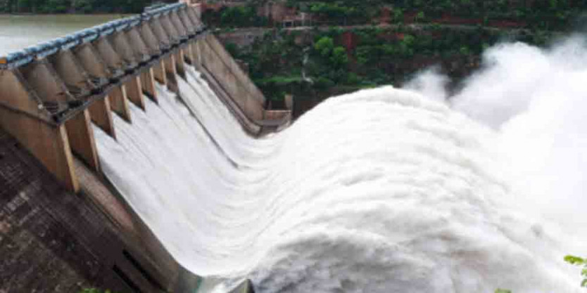 Pulichintala Project receives floodwater