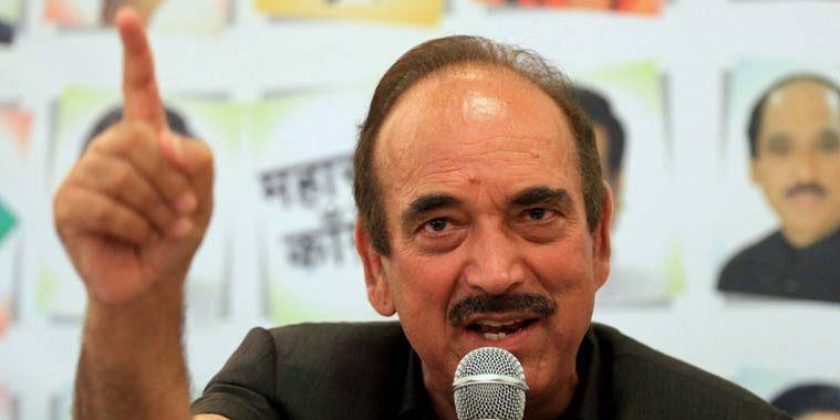 घाटी में पसरा सन्नाटा, BJP ने नक्शे से मिटा दिया जम्मू-कश्मीर: गुलाम नबी आजाद