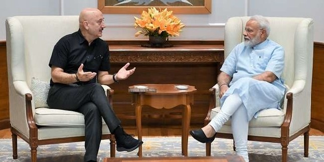 Anupam Kher meets Modi, says his inspirational words are great source of energy for him