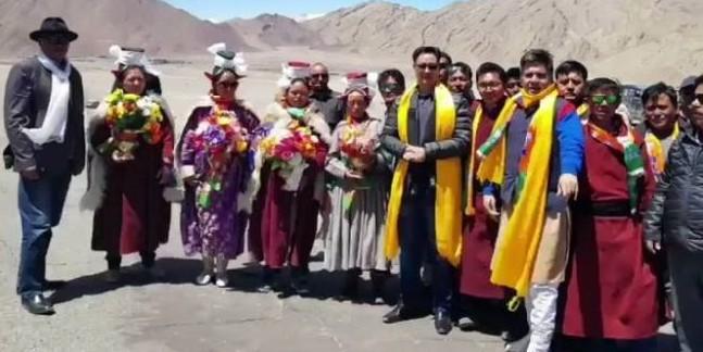 लद्दाख के लोगों की गुनाहगार है कांग्रेस : रिजिजू