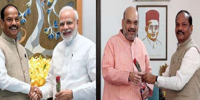 PM MODI और अमित शाह से मिले CM रघुवर दास, AIIMS में जाना अरुण जेटली का हाल