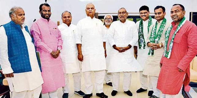 आज दिल्ली में जदयू संसदीय दल की बैठक, मुख्यमंत्री नीतीश कुमार भी लेंगे भाग