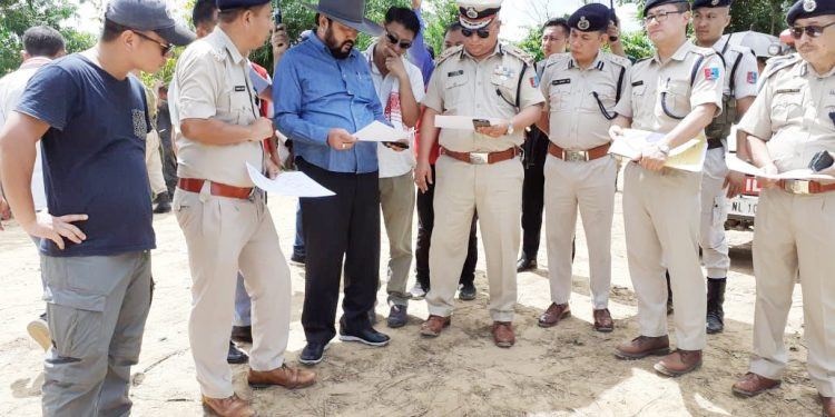 Nagaland deputy CM visits disputed site; urges to maintain peace