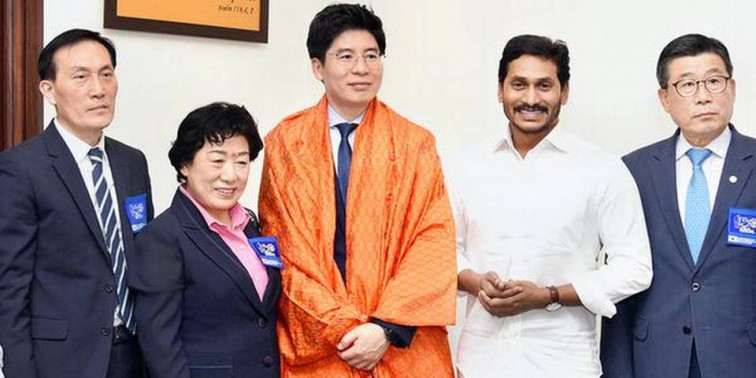 CM Jagan exhorted South Korean firms to set up steel plant in Kadapa