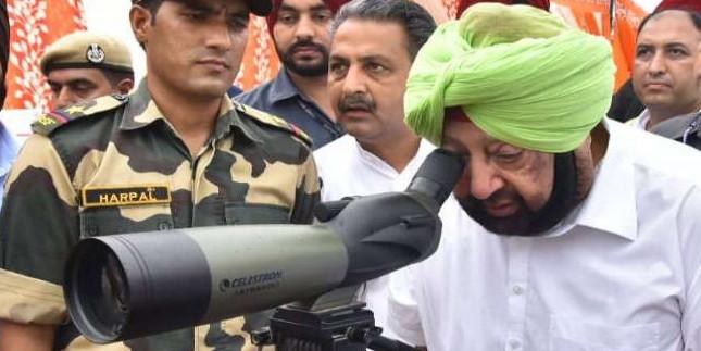 CM ने Kartarpur Corridor के निर्माण कार्य का जायजा लिया, कहा- काम की गति से संतुष्ट हूं