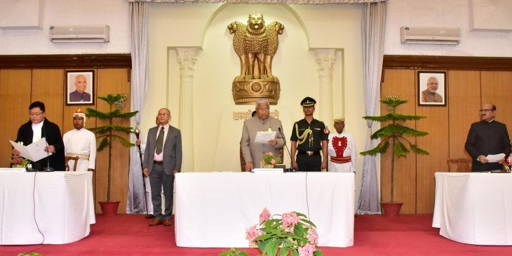 Nagaland Governor sworn in as additional charge of Manipur