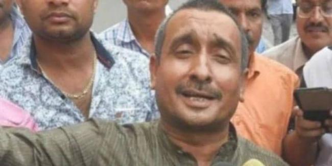 उन्नाव रेप के आरोपी कुलदीप सिंह सेंगर से जेल में मिले 10 हजार मुलाकाती