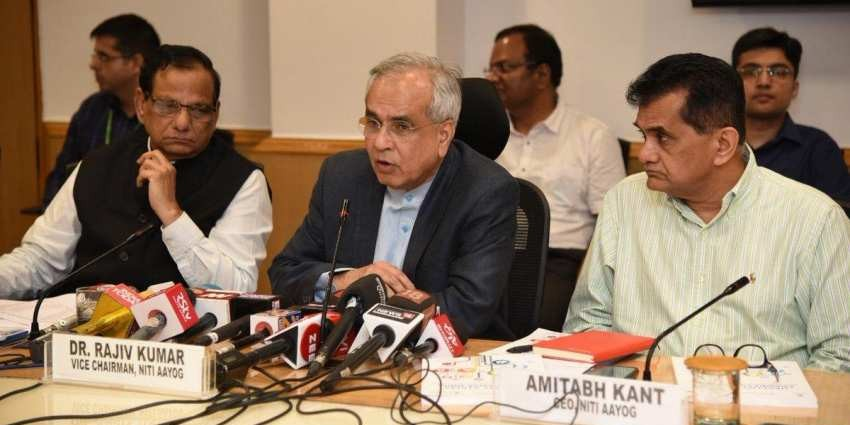 NITI Aayog releases 'Healthy States, Progressive India' report; Kerala, Andhra, Maharashtra rank on top
