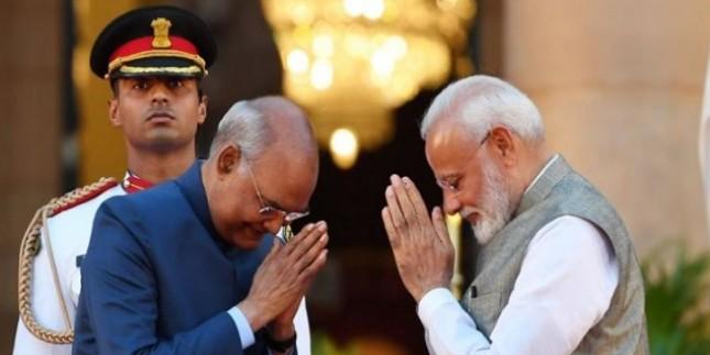शपथ लेने के बाद पीएम मोदी ने कहा- 'ऊर्जा और प्रशासनिक अनुभवों का मेल है नया मंत्रिमंडल'