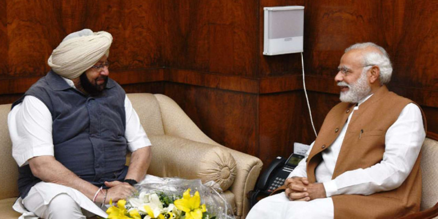 Don't let Pak take service charge for Kartarpur: Amarinder to PM