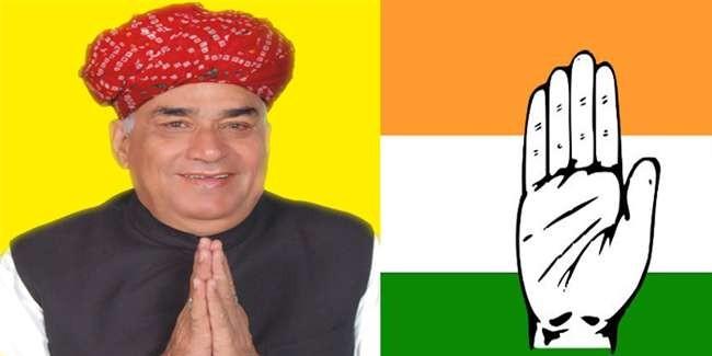 lok sabha election 2019: टिकट नहीं मिलने से नाराज भाजपा सांसद कर्नल सोनाराम होंगे कांग्रेस में शामिल