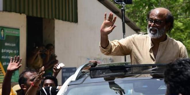 Rain Water Harvesting should be taken up on war footing, says Rajinikanth
