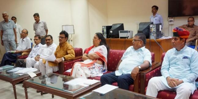 भाजपा विधायक दल की बैठक, गहलोत सरकार को घेरने की रणनीति पर चर्चा