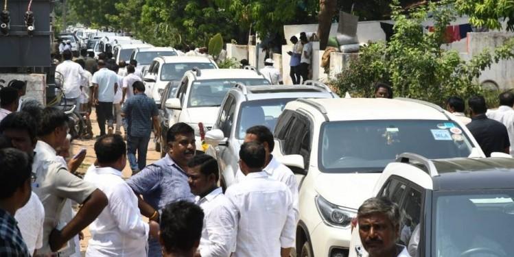 Jagan Mohan Reddy elected YSRCLP leader