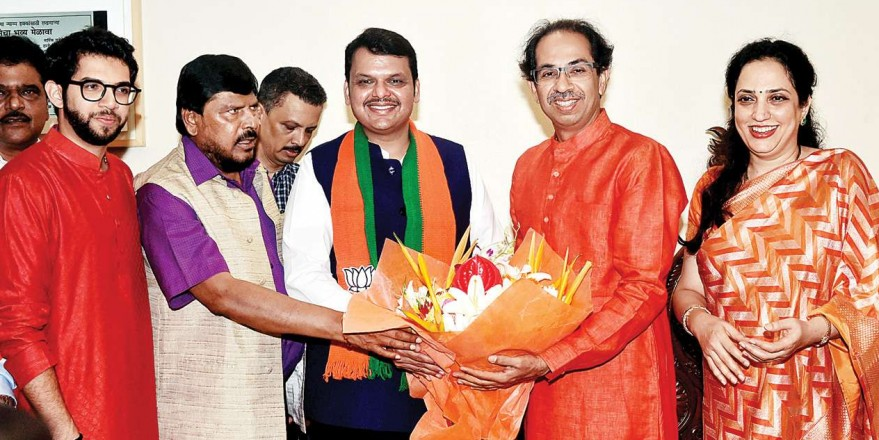 Shiv Sena fears BJP may ditch again before Maharashtra Assembly polls