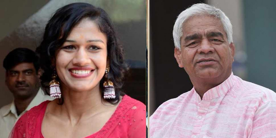 पिता महावीर फोगाट के साथ रेसलर बबीता फोगाट आज ज्वाइन करेंगी BJP