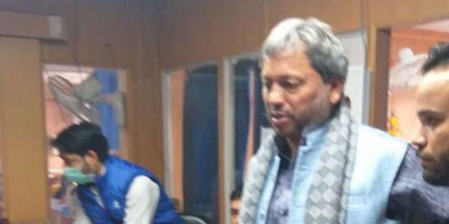 हरिद्वार में सड़क दुर्घटना में पौड़ी सांसद तीरथ सिंह रावत घायल