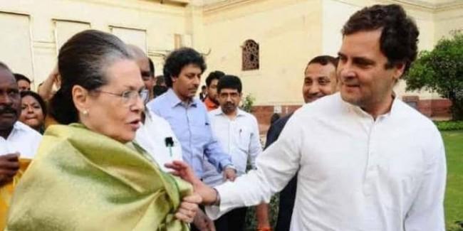 अध्यक्ष के चुनाव में नहीं रहेगा गांधी परिवार, सोनिया के साथ अमेरिका जाएंगे राहुल
