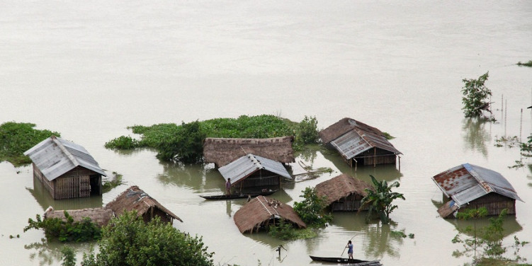 Hope Floats in Majuli Island of Assam Amidst the Flood