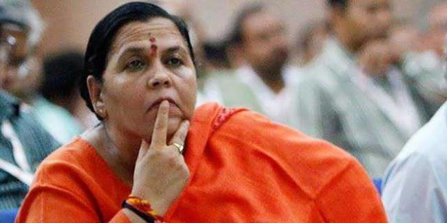 आदर पाने को फिरोज ने 'गांधी' शब्द जोड़ा: उमा भारती