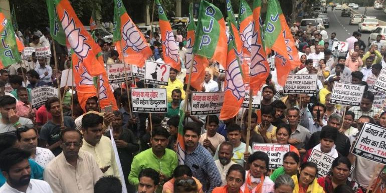 WB Boils as BJP Protest Against Mamata Govt Over Electricity Price Hike