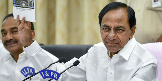 """""""They dismissed themself"""", KCR on TRC workers"""