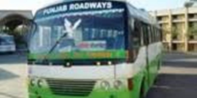 Punjab 3,000 employees of state-run buses go on strike