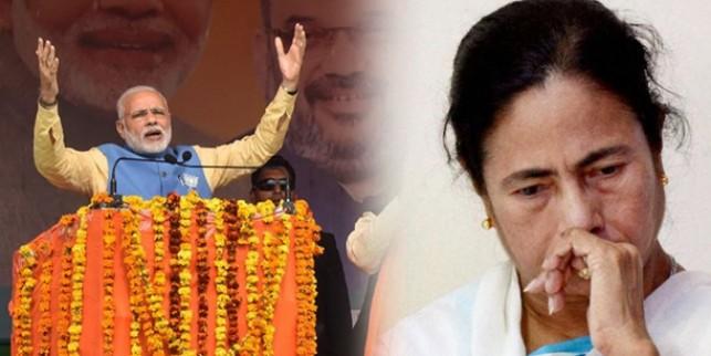मोदी के 'चुपचाप कमलछाप' ने कैसे गिराया बंगाल में टीएमसी का ग्राफ?
