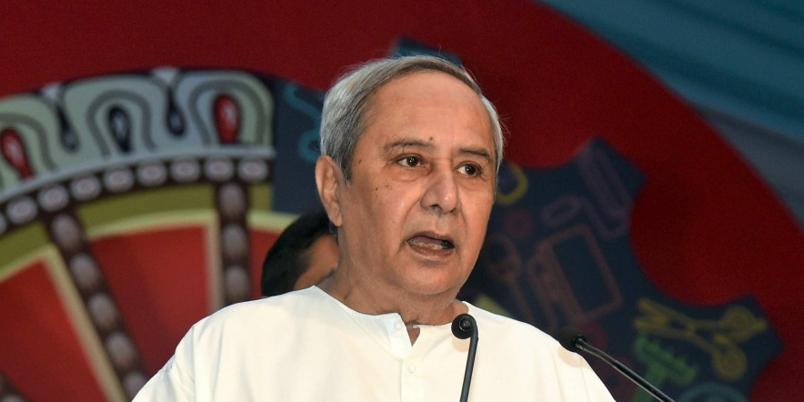 Chief Minister Naveen Patnaik reviews pending projects