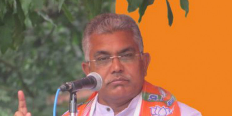 Agreed to Meet TMC MLA Debashree Roy on Mahua Moitra's Request, Says Bengal BJP Chief Dilip Ghosh