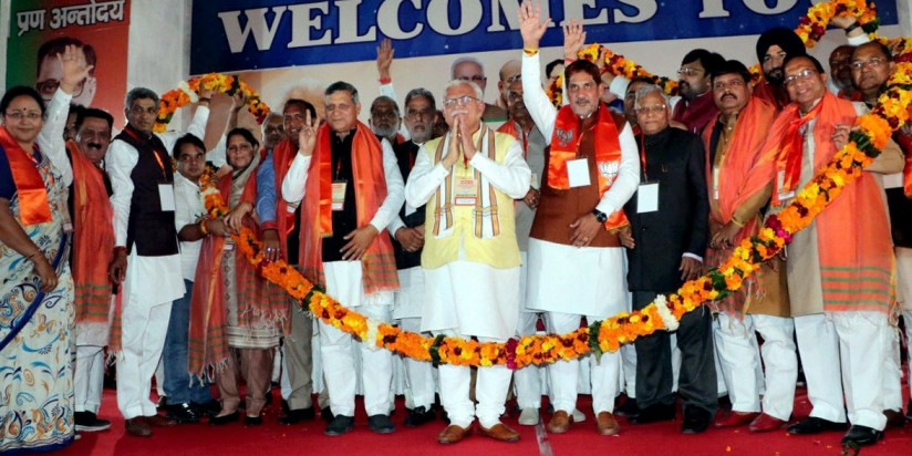 Khattar government gifted chairmanship of corporations to independent MLAs