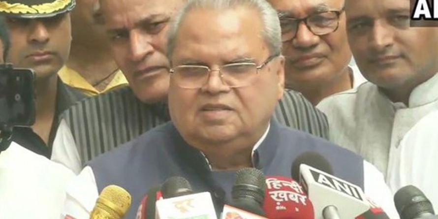 जम्मू-कश्मीर के राज्यपाल सत्यपाल ने राज्य में दवाओं की कमी की रिपोर्ट को नकारा