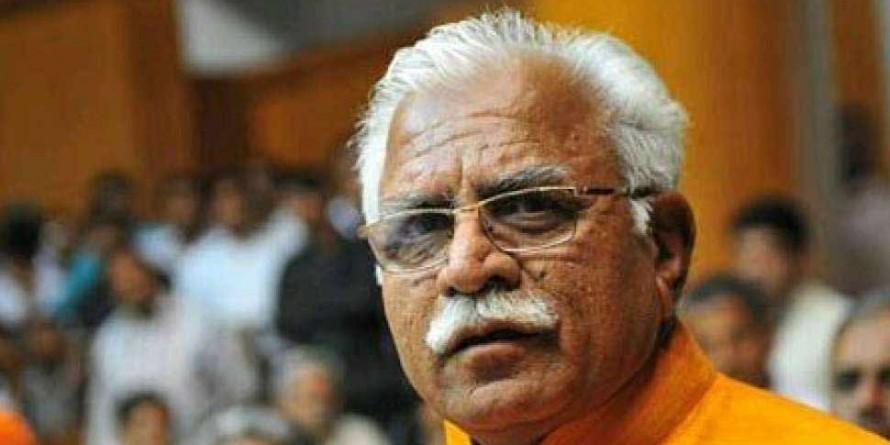 जींद की घटना के बाद खट्टर ने चुनाव आयोग से पूछा, 'चंडीगढ़ में रुक सकता हूं या नहीं'