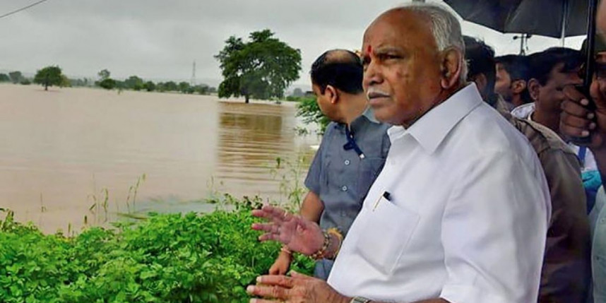 Flood destruction in Karnataka continues, CM Yeddyurappa announces compensation