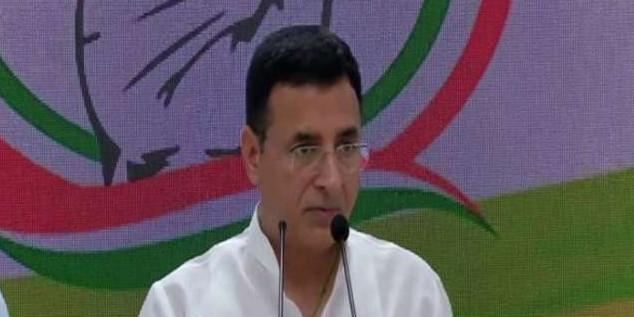 कांग्रेस नेता रणदीप सुरजेवाला के खिलाफ मानहानि के मामले में जमानती वारंट जारी