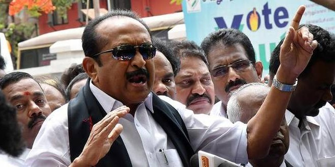 Pro-LTTE speech: Vaiko's intent was to cause hatred, says the court